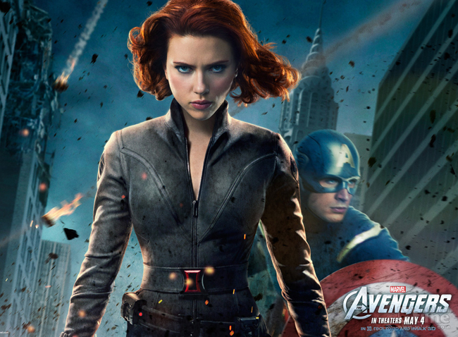 &#160;Scarlett Johansson trong The Avengers